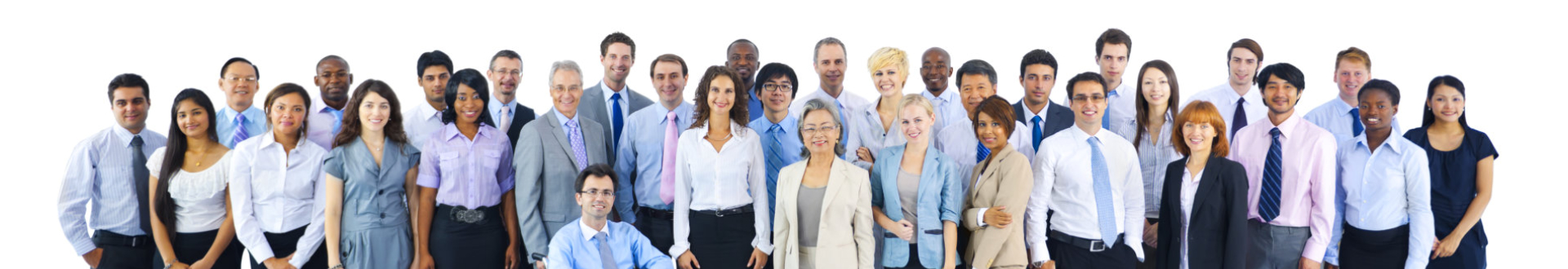 Large Group Business People